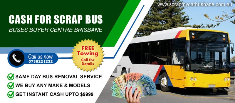 Cash for Scrap Bus Brisbane