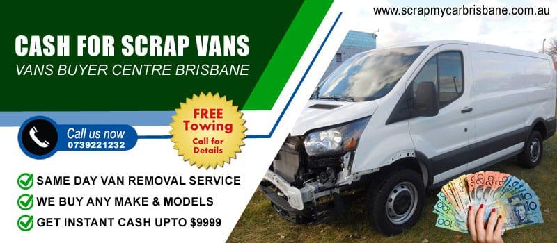 Cash for Scrap Vans Brisbane