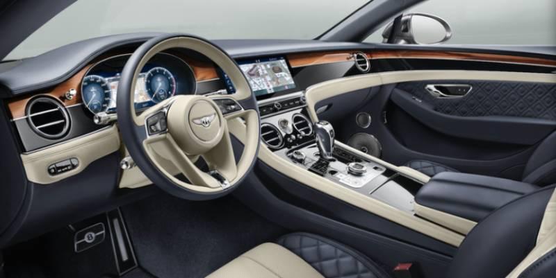 the vehicle interior